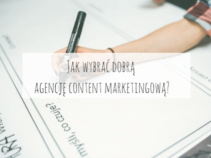 dobra agencja content marketingowa poznań conture