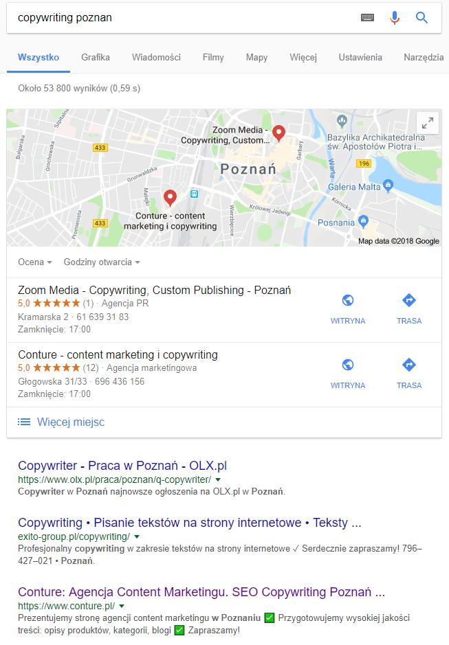 copywriting poznan