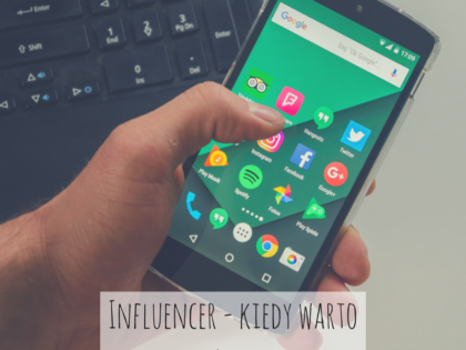 Influencer i social media