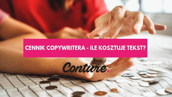 Cennik copywritera - ile kosztuje tekst?