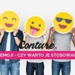 Emoji – czy warto je stosować?