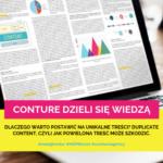 Dlaczego warto postawić na unikalne treści? Duplicate content, czyli jak powielona treść może szkodzić. – MŚPBiznes