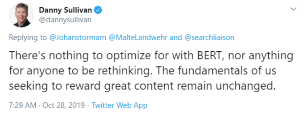 BERT Twitter