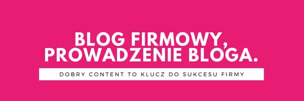 Artykuły blogowe i prowadzenie bloga