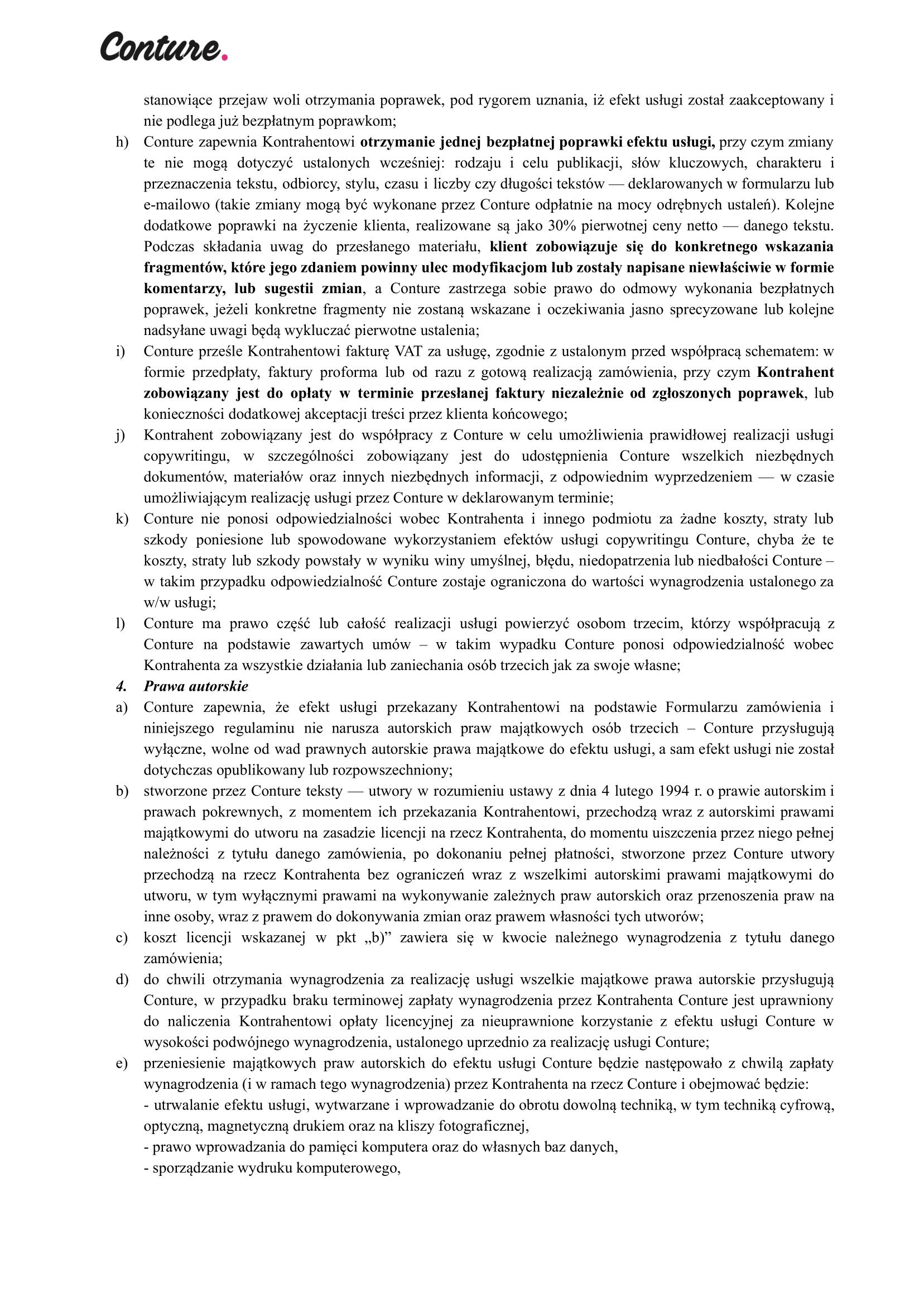 Regulamin Handix 2